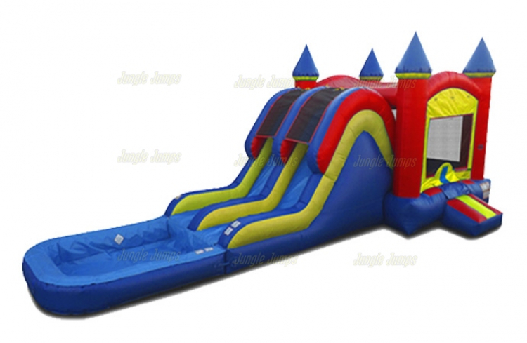 Double Water Slide Combo