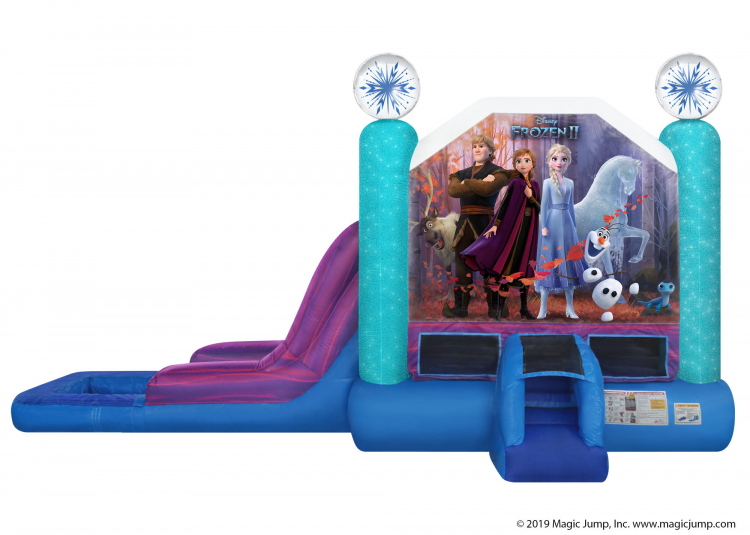 Frozen 2 Combo Water Slide
