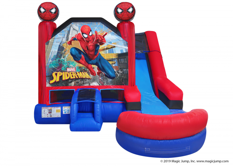 Spider-Man 6 in 1 Combo Water Slide