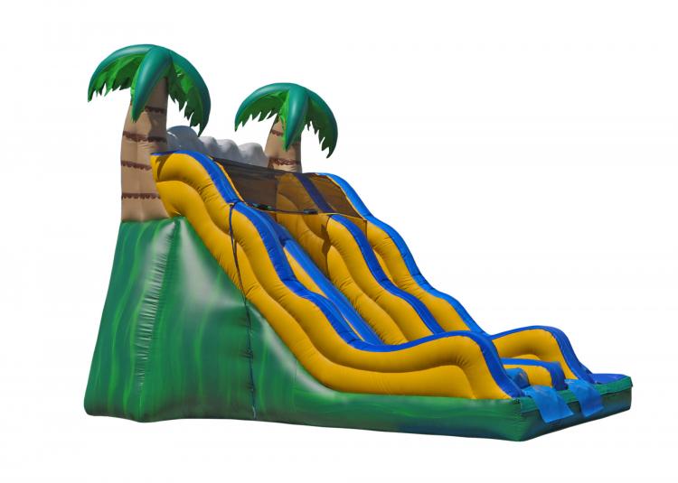 17' Tropical Dry Slide