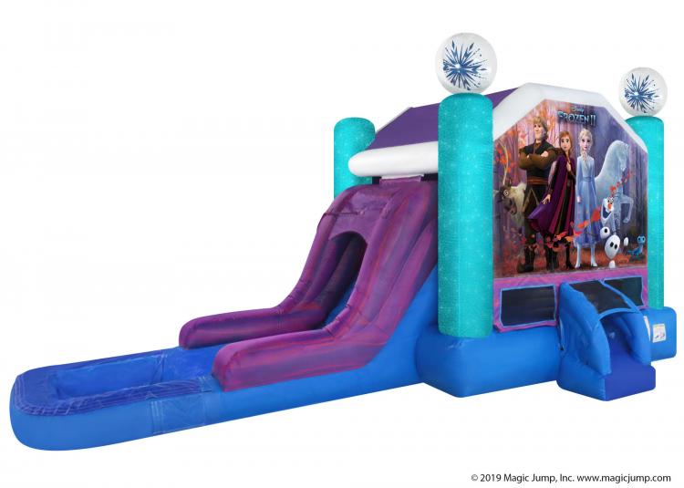 Frozen 2 Combo Water Slide